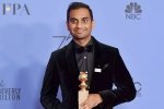 Aziz Ansari, the first Asian American to win at Oscar 2018