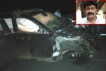 Rajasekhar Meets With a Road Accident