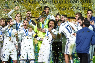 Real Madrid Clinches its 3rd title this year
