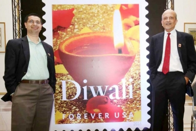23 countries celebrate release of Diwali stamp in US!