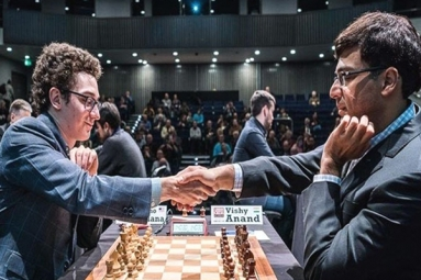 Norway Chess: Viswanathan Anand Out of Contention After Losing to USA's Fabiano Caruana