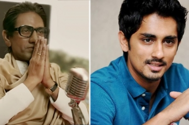 Siddharth Hits Out at 'Thackeray' Trailer for Anti-South Indian Remarks